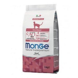 Monge Gatto manzo Monoproteico Sterilizzato